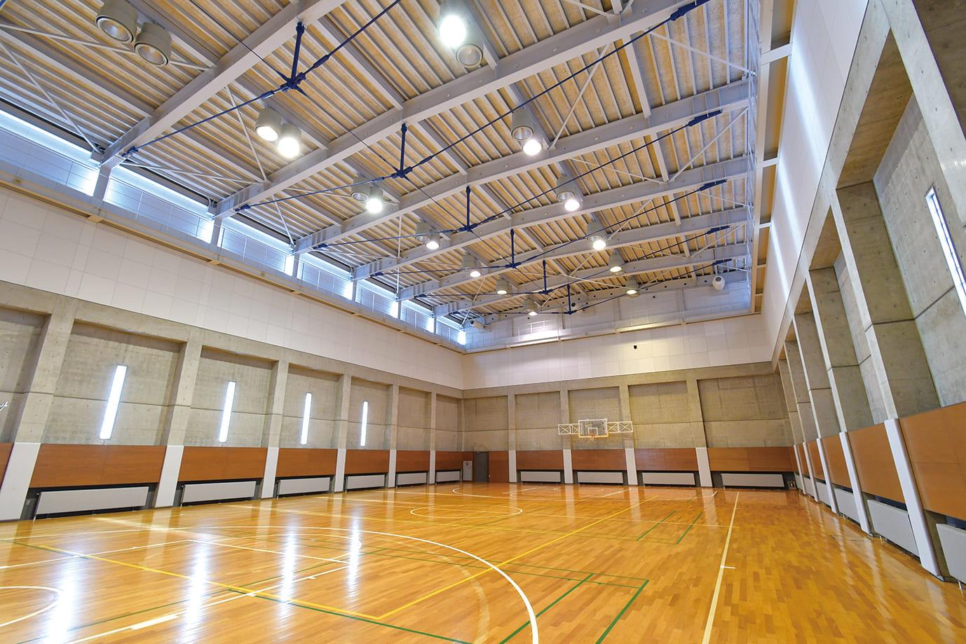 A 体育館